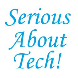 Serious About Tech! logo