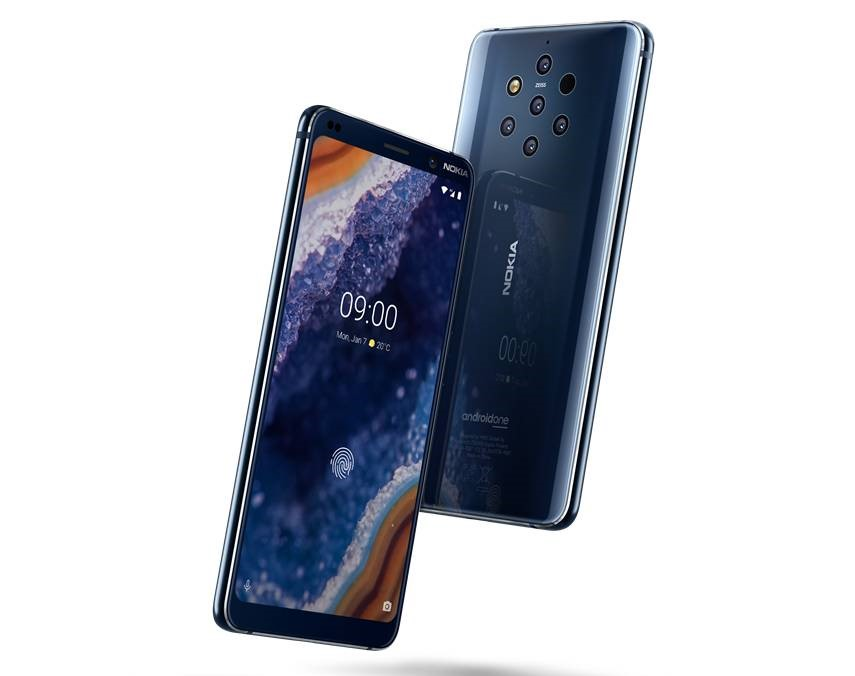 The Nokia 9 Pureview smartphone