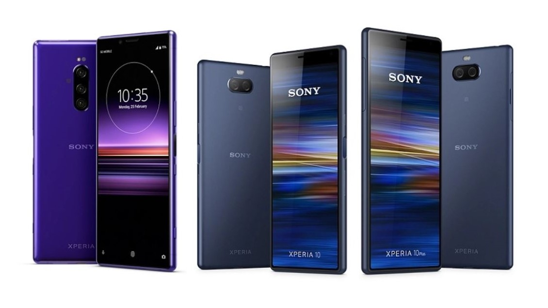 Sony Xperia 1, 10, and 10 Plus